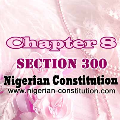 Chapter 8 Section 300
