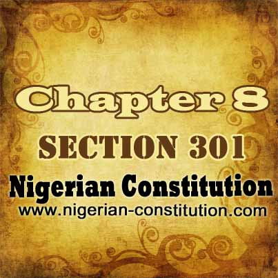 Chapter 8 Section 301