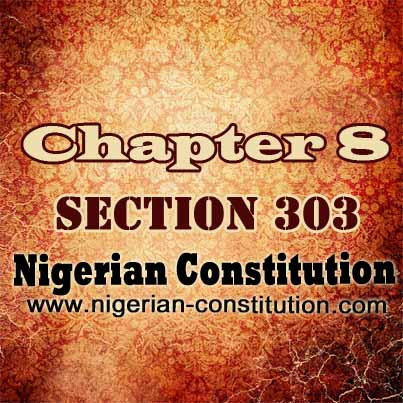 Chapter 8 Section 303