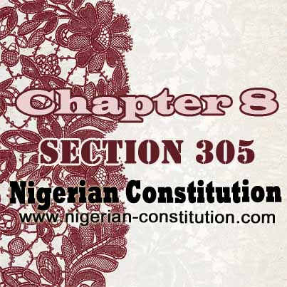 Chapter 8 Section 305