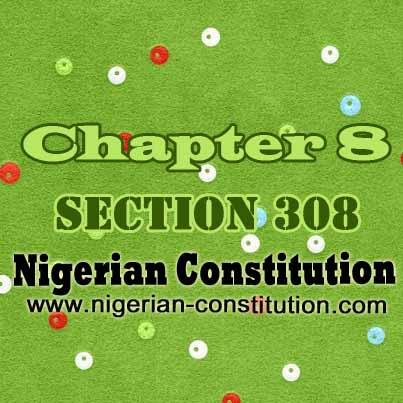 Chapter 8 Section 308