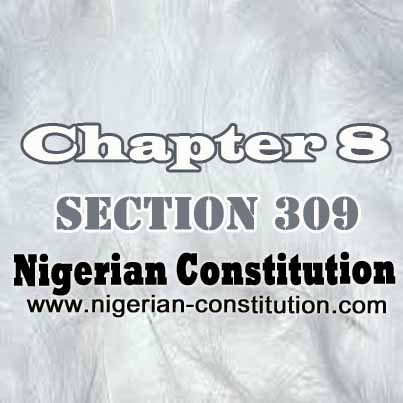 Chapter 8 Section 309