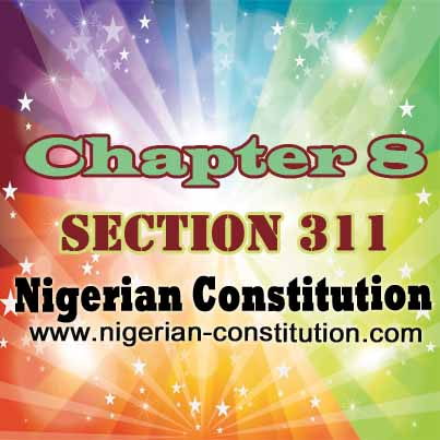 Chapter 8 Section 311