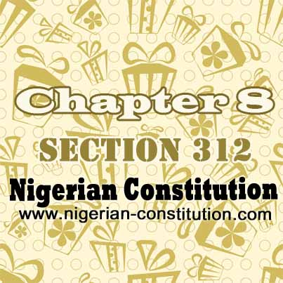 Chapter 8 Section 312