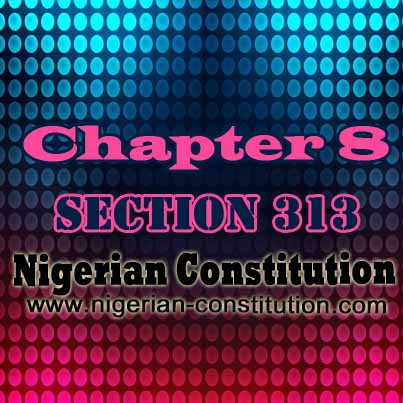 Chapter 8 Section 313