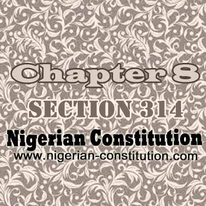 Chapter 8 Section 314