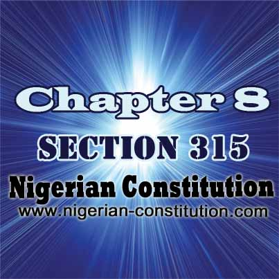 Chapter 8 Section 315