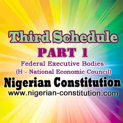 Schedule 3 Part 1 H