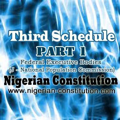 Schedule 3 Part 1 J