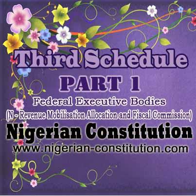 Schedule 3 Part 1 N