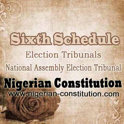 Schedule 6 A